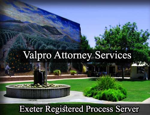 Exeter Registered Process Server