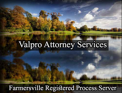 Farmersville Registered Process Server