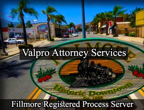 Fillmore Registered Process Server