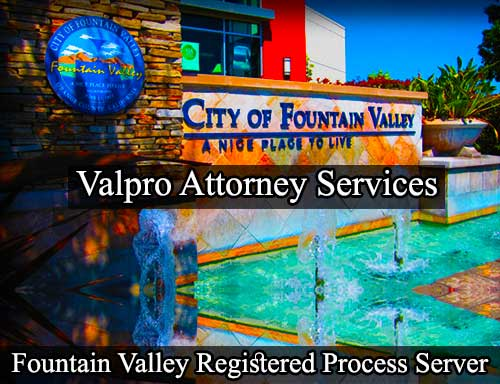 Fountain Valley Registered Process Server