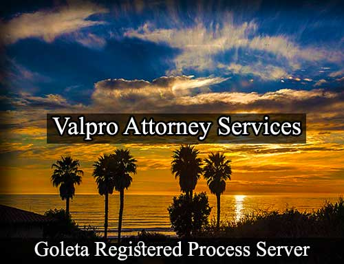Goleta Registered Process Server