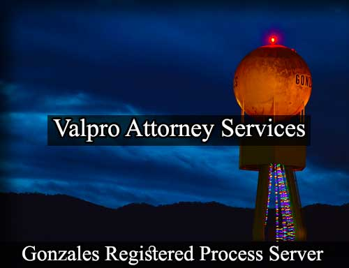 Gonzales Registered Process Server