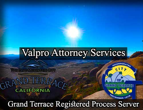 Grand Terrace Registered Process Server