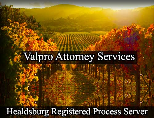 Healdsburg Registered Process Server