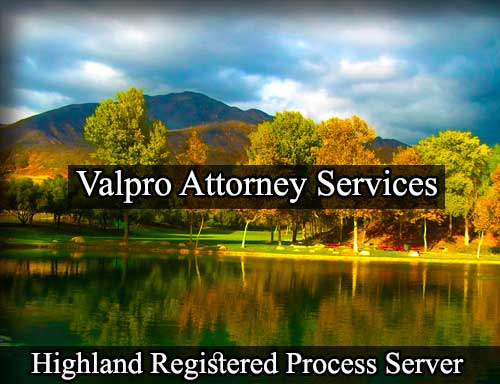 Highland Registered Process Server