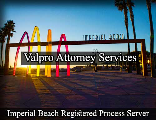 Imperial Beach Registered Process Server