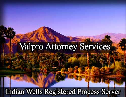 Indian Wells Registered Process Server