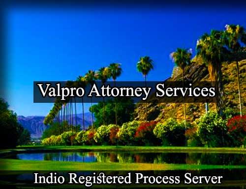 Indio Registered Process Server