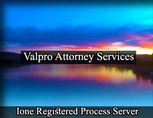 Ione Registered Process Server