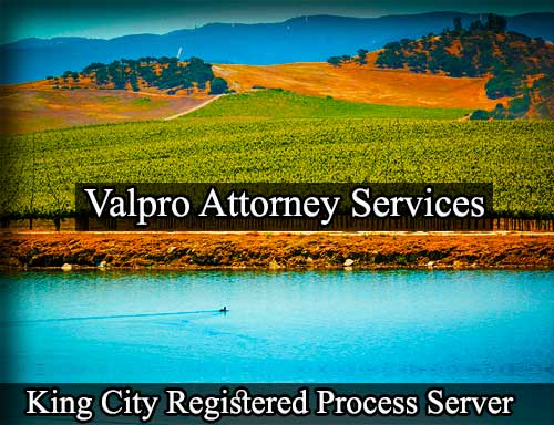 King City Registered Process Server