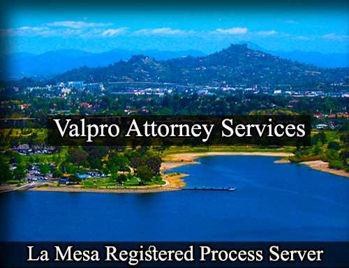 La Mesa Registered Process Server
