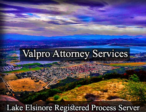 Lake Elsinore Registered Process Server