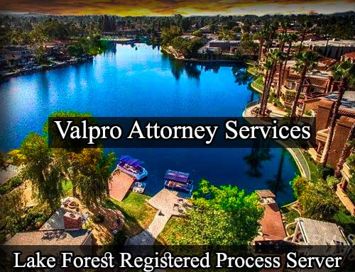 Lake Forest Registered Process Server