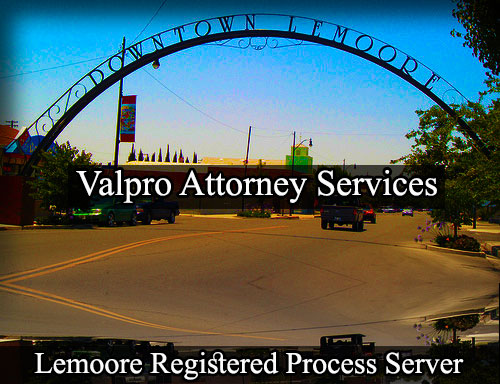 Lemoore Registered Process Server