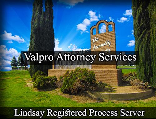 Lindsay Registered Process Server