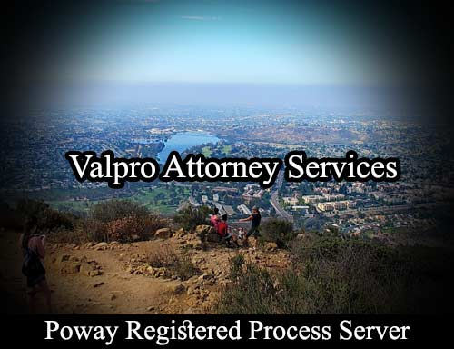 Poway Registered Process Server