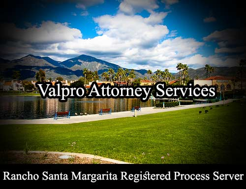 Rancho Santa Margarita Registered Process Server