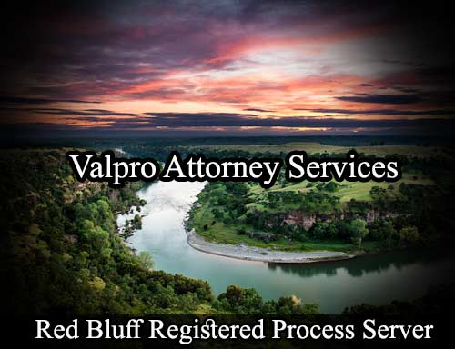 Red Bluff Registered Process Server