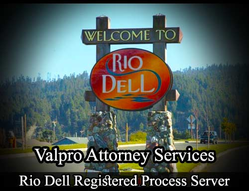Rio Dell Registered Process Server