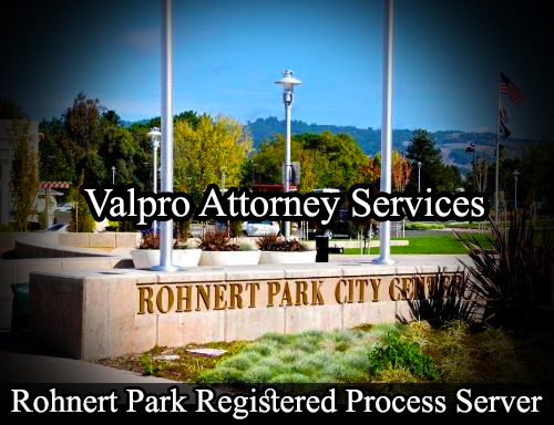 Rohnert Park Registered Process Server