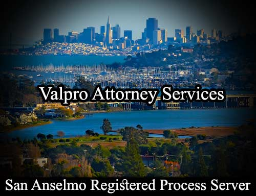 San Anselmo Registered Process Server