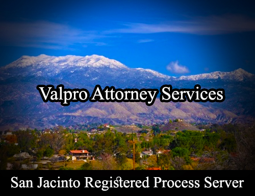 San Jacinto Registered Process Server