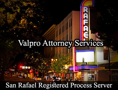 San Rafael Registered Process Server