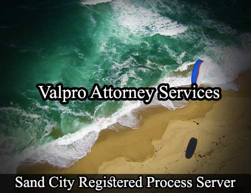 Sand City Registered Process Server