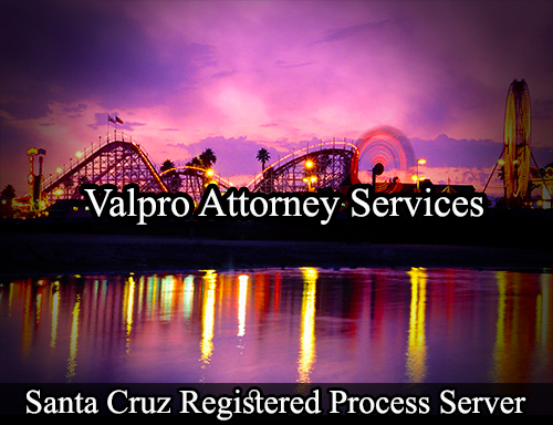Santa Cruz Registered Process Server
