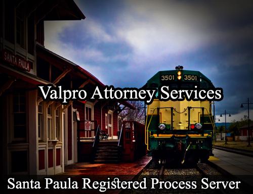 Santa Paula Registered Process Server