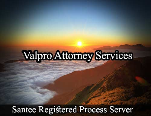 Santee Registered Process Server