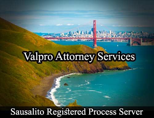 Sausalito Registered Process Server