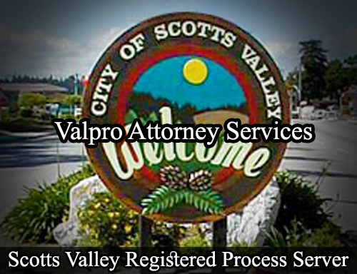 Scotts Valley Registered Process Server
