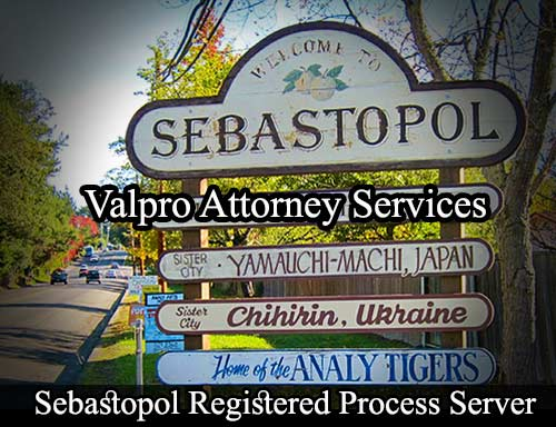 Sebastopol Registered Process Server