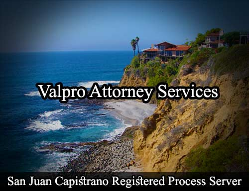 San Juan Capistrano Registered Process Server