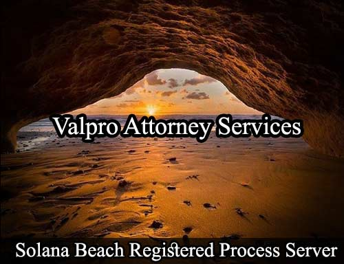 Solana Beach Registered Process Server
