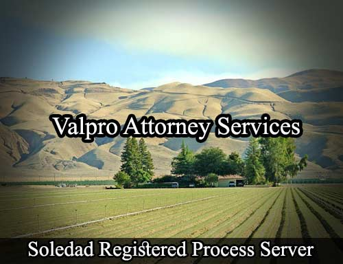 Soledad Registered Process Server