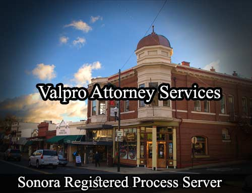 Sonora Registered Process Server