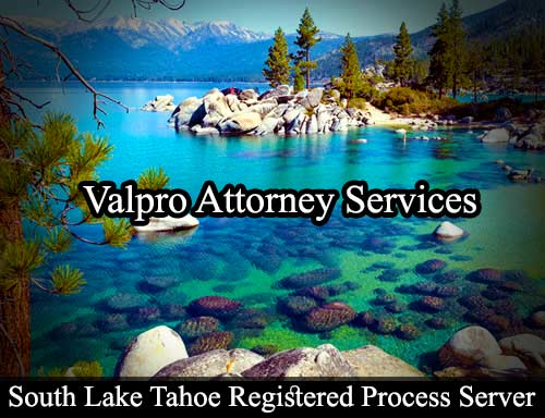 South Lake Tahoe Registered Process Server