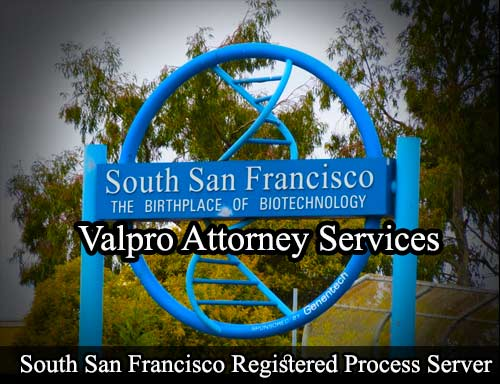 South San Francisco Registered Process Server