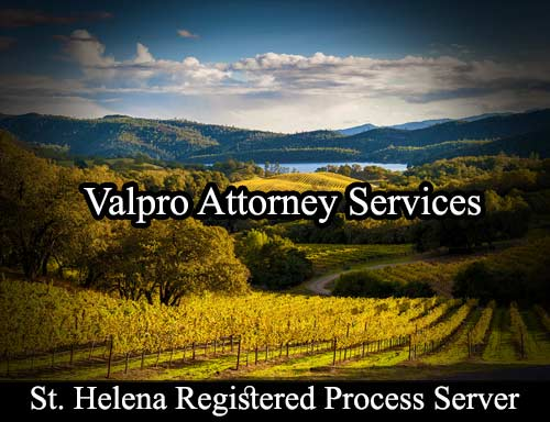 St. Helena Registered Process Server