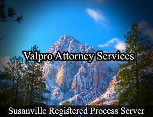Susanville Registered Process Server