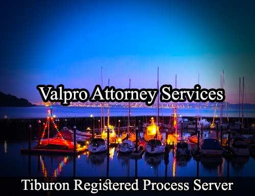 Tiburon Registered Process Server