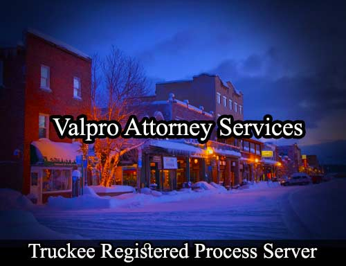 Truckee Registered Process Server