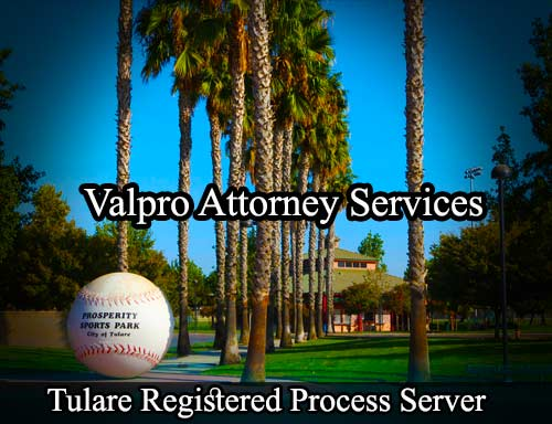 Tulare Registered Process Server