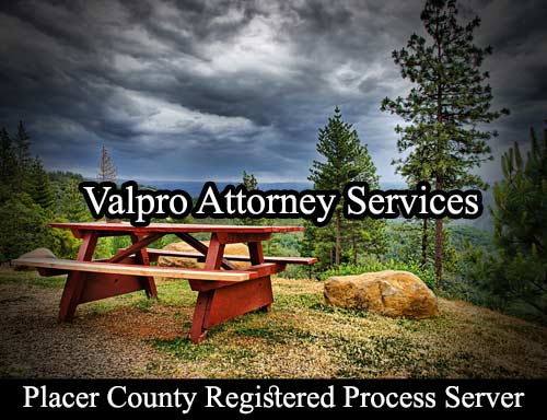 Placer County Registered Process Server