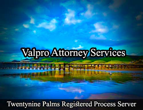 Twentynine Palms Registered Process Server