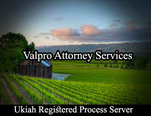 Ukiah Registered Process Server