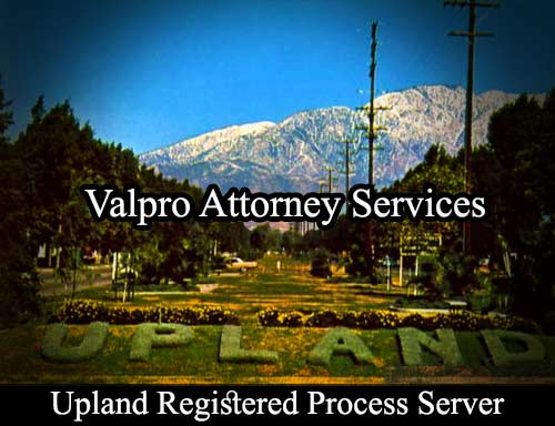Upland Registered Process Server