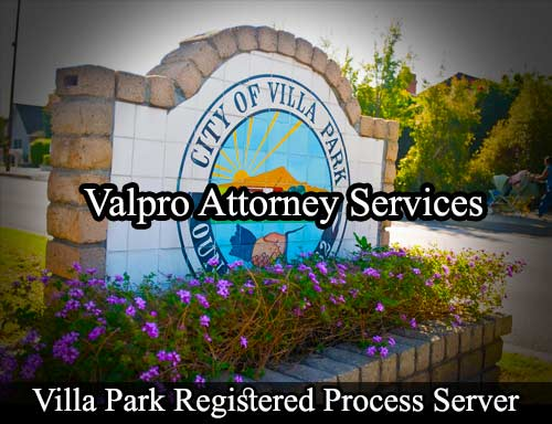 Villa Park Registered Process Server